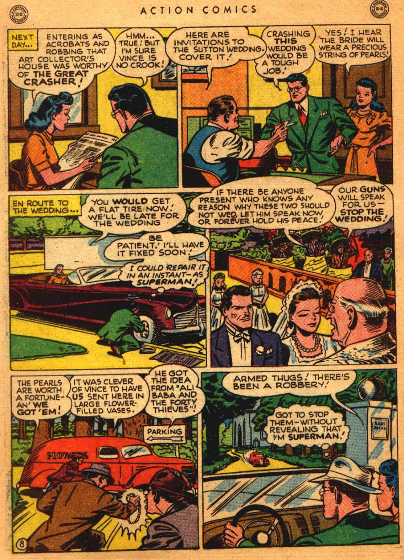 Read online Action Comics (1938) comic -  Issue #108 - 9