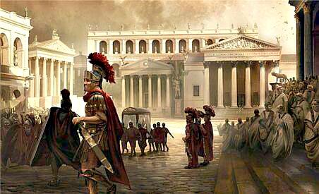 Un Moderno Foro Di Roma.I Fori Di Roma Romanoimpero Com