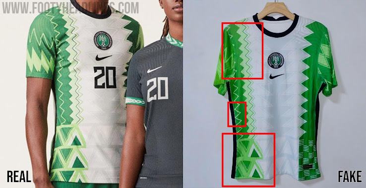 Nuevo significado Agradecido Zapatos antideslizantes  Leaked' Pictures Of Nigeria 2020 Kit Show Fake Product - Here Is What Is  All Wrong - Footy Headlines