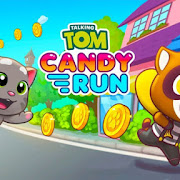 Talking Tom Candy Run MOD APK v1.1.1.112 for Android HACK Unlimited Money Terbaru 2018