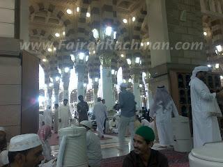 Umroh Ramadhan Buka Puasa di Masjid Nabawi