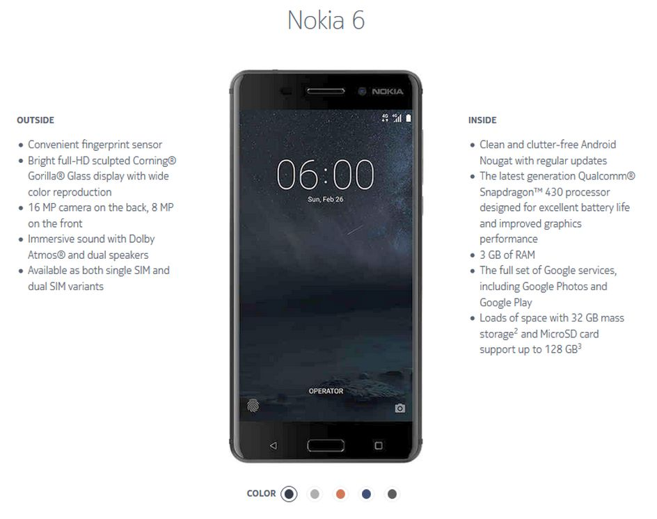 Nokia 6 Manual PDF with Tutorial | Halamanku Halamanmu
