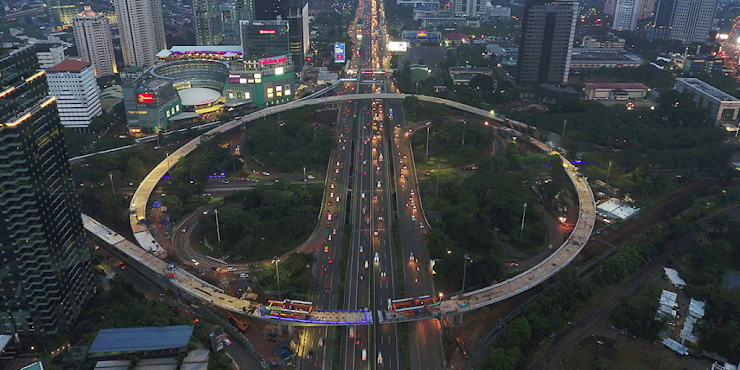 Djarot Klaim Pembangunan Jalan Simpang Susun Semanggi Karena Keberanian Ahok