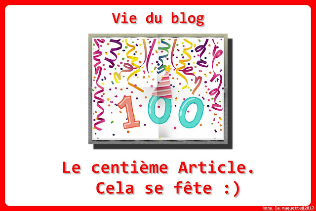 logo 100 articles.