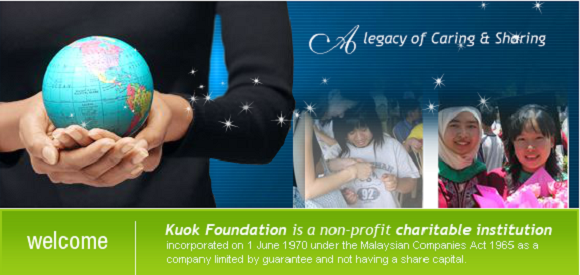 History of Kuok Foundation Berhad scholarship