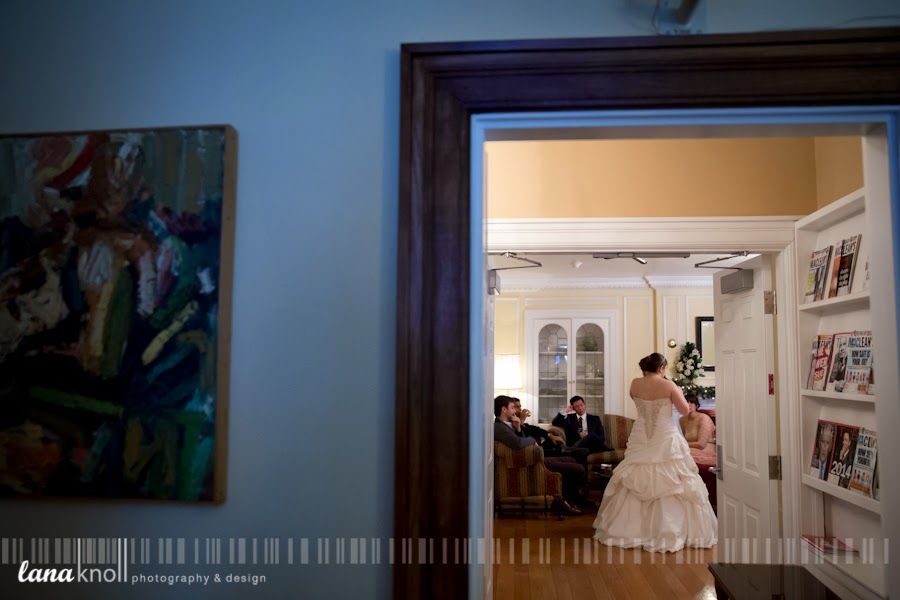 University Club wedding