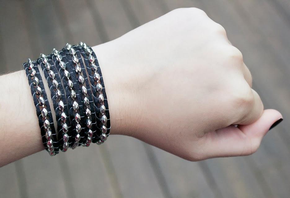 Rocker Wrap Bracelet For S Or Guys