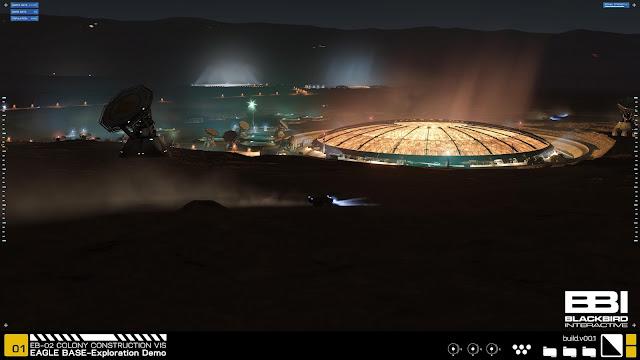 Project Eagle Mars base by Blackbird Interactive, NASA JPL