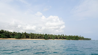 From Praia Inhame Eco Lodge to Rolas Island its only 10 minutes