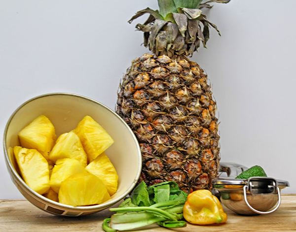 Pineapple chow ingredients