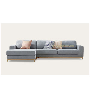 Set Kursi Sofa Tamu L Sudut Jati Modern Seri Franky