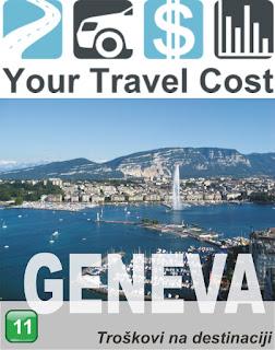 Ženeva, Švajcarska – Troškovi