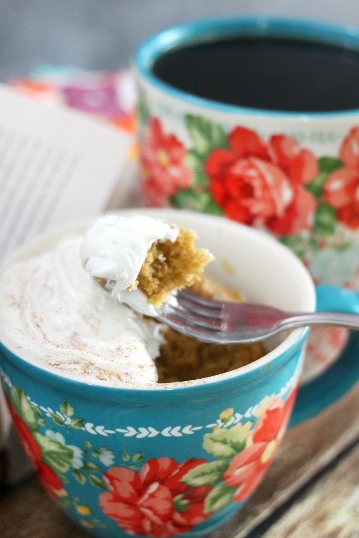 Mama Loves Food!: Easy Cinnamon Mug Cake Recipe