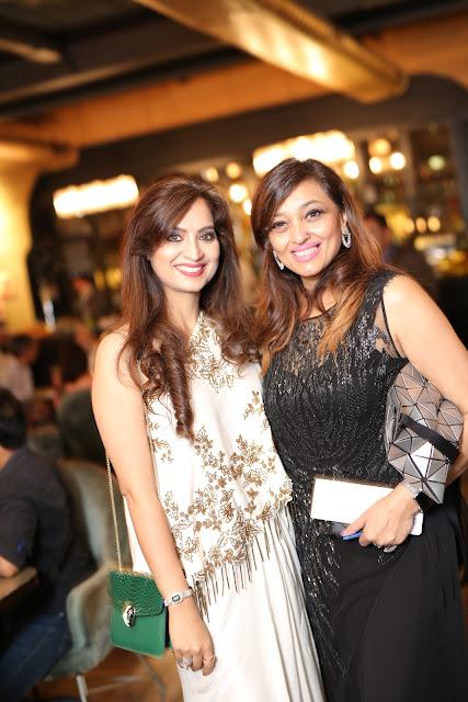 Designer Preeti Ghai with Shalini Arora Kochhar