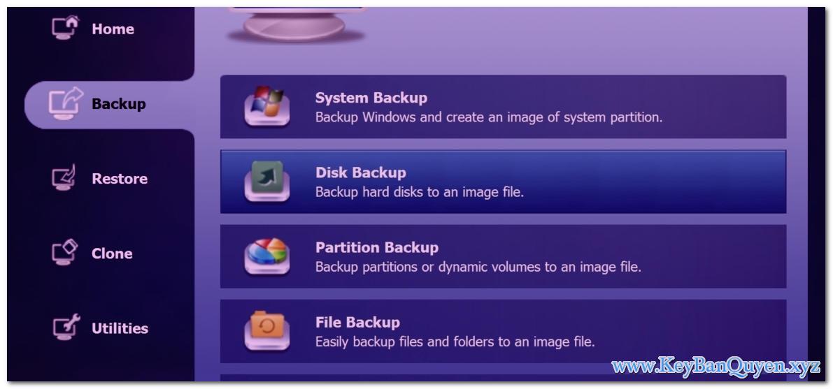Download AOMEI Backupper Server 4.5.6.0 Full Key, Phần mềm tự động sao lưu - phục hồi Server