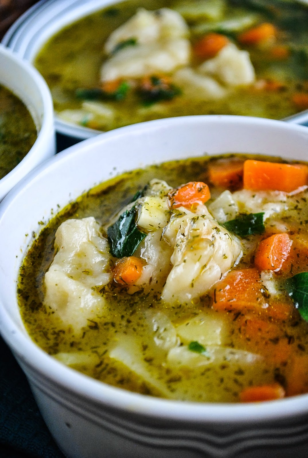 Easy Vegetable And Dumpling Soup Video Vegansandra