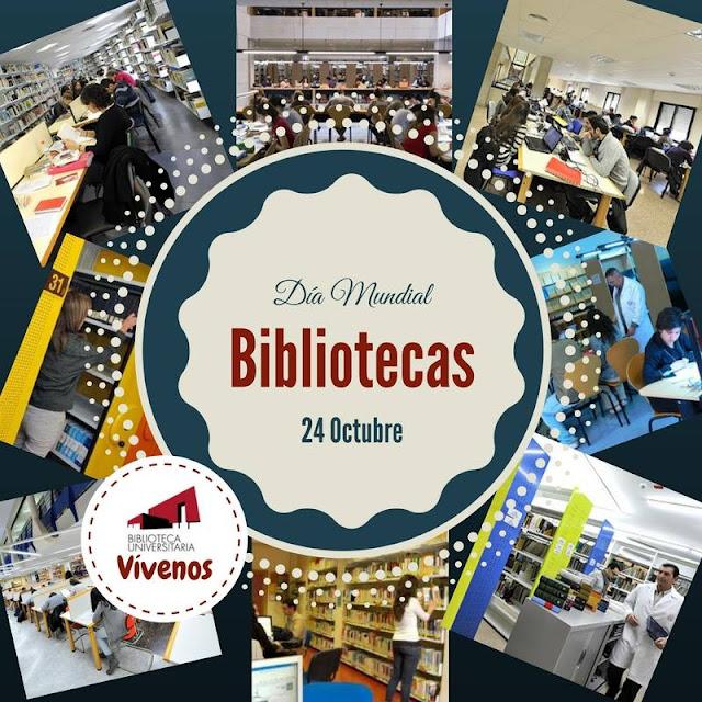 Día Mundial de las Bibliotecas.