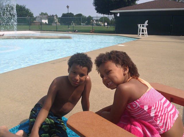 Summer at the pool #CLESummer