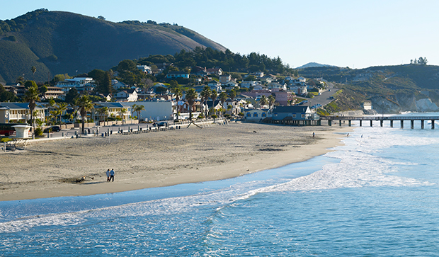 Avila beach, California, USA.