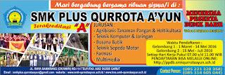 Spanduk PPDB SMK Plus Qurrota A'yun