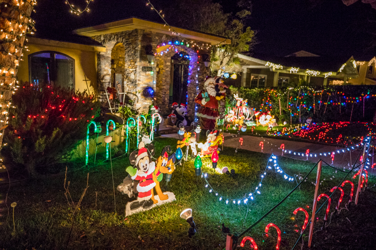 Tales Of The Flowers Sleepy Hollow Christmas Lights And