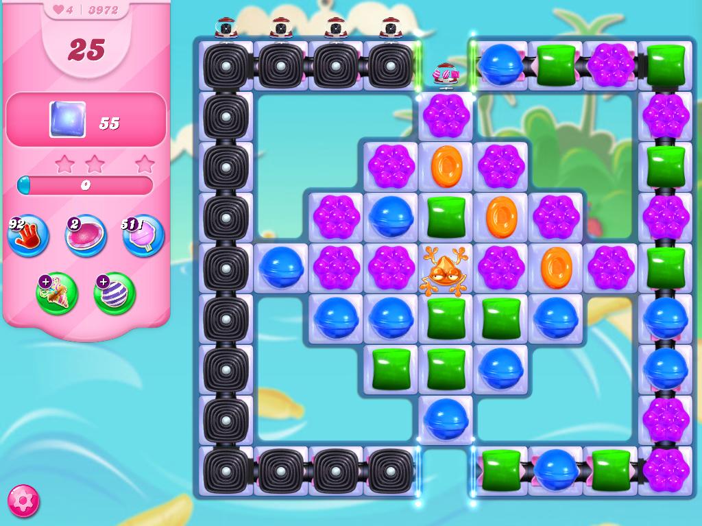 Candy Crush Saga level 3972