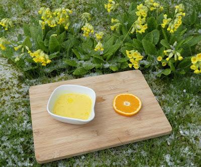 Schnelle Orangen-Hollandaise