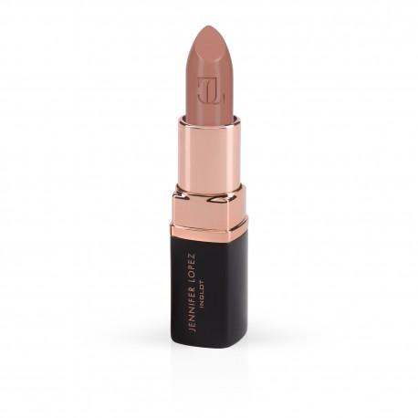 Jennifer Lopez Inglot makeup mauve lipstick