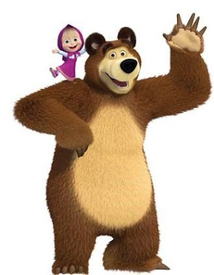 Gambar Animasi Masha And The Bear