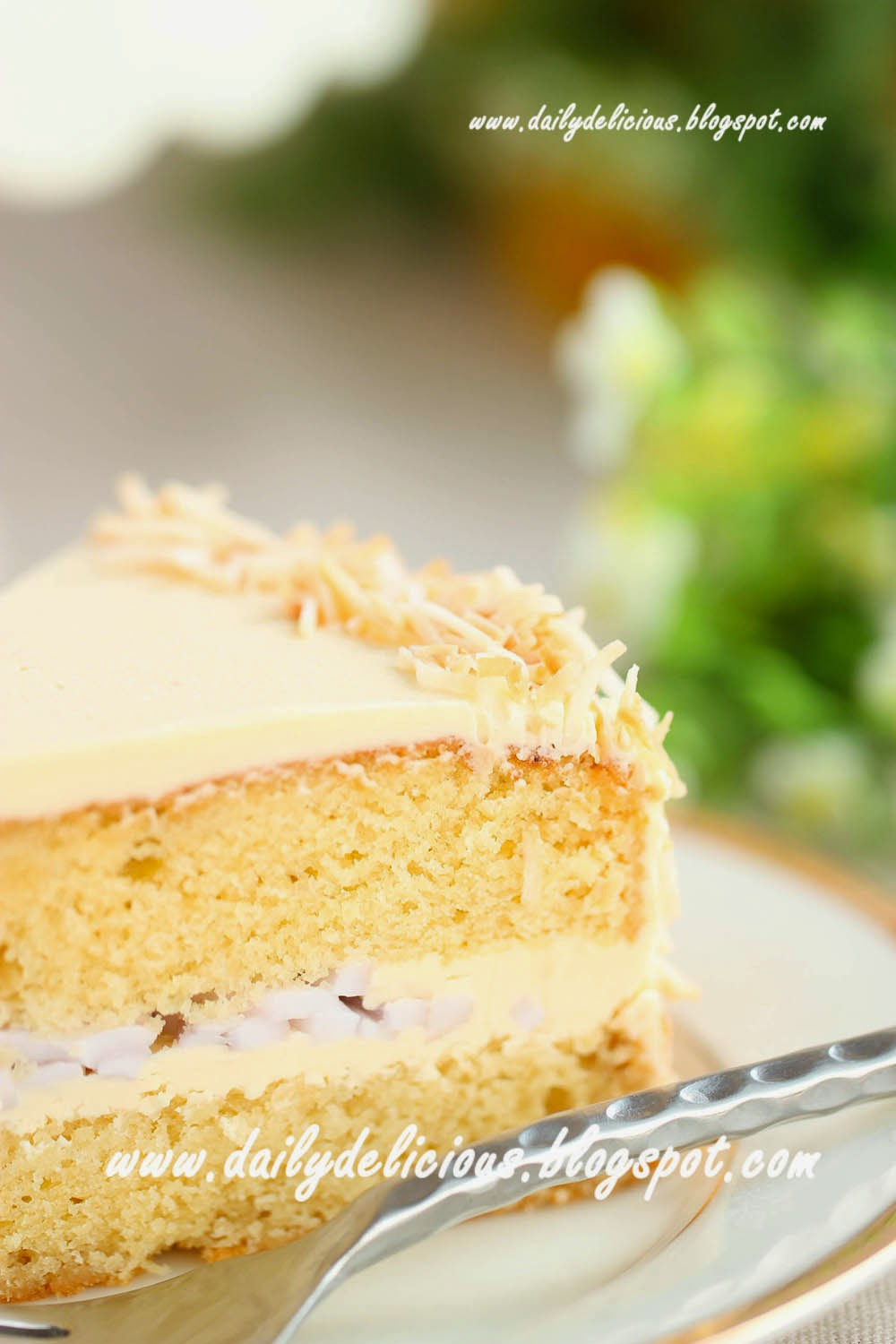 Dailydelicious Coconut Sugar Cake Another Place For