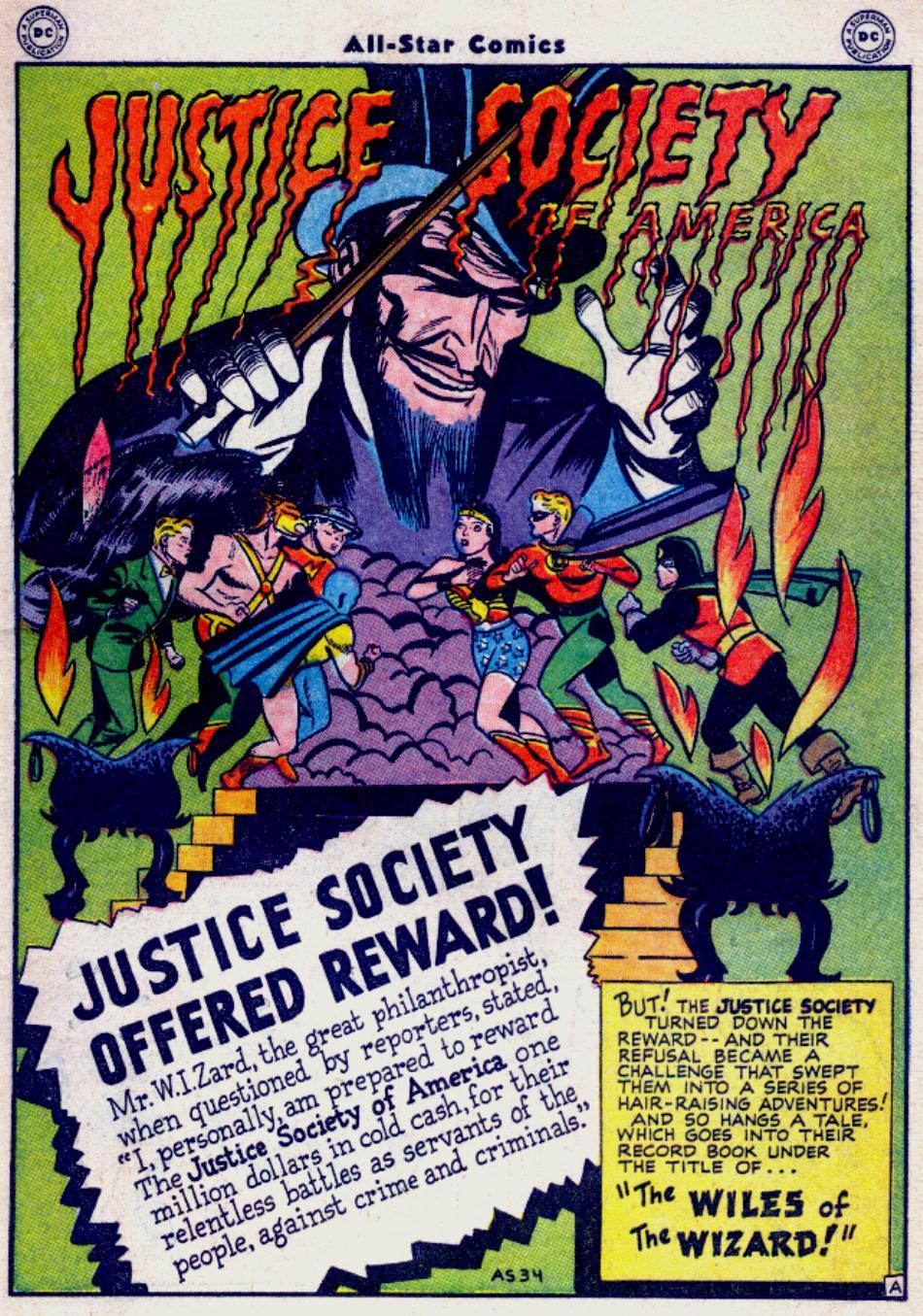 Read online All-Star Comics comic -  Issue #34 - 3