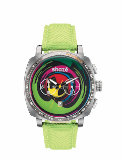 Rule Breaker Neo Pop Watch by shazé. Price - Rs. 11,390