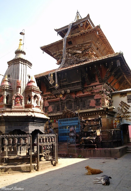 Chobar, Tempio di Adinath Lokeshwar