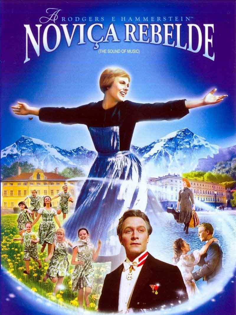 A Noviça Rebelde Torrent - Blu-ray Rip 720p e 1080p Dual Áudio (1965)
