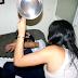 Homem apanha da ex-mulher com golpe de peça de maquina de lavar  em Pirassununga