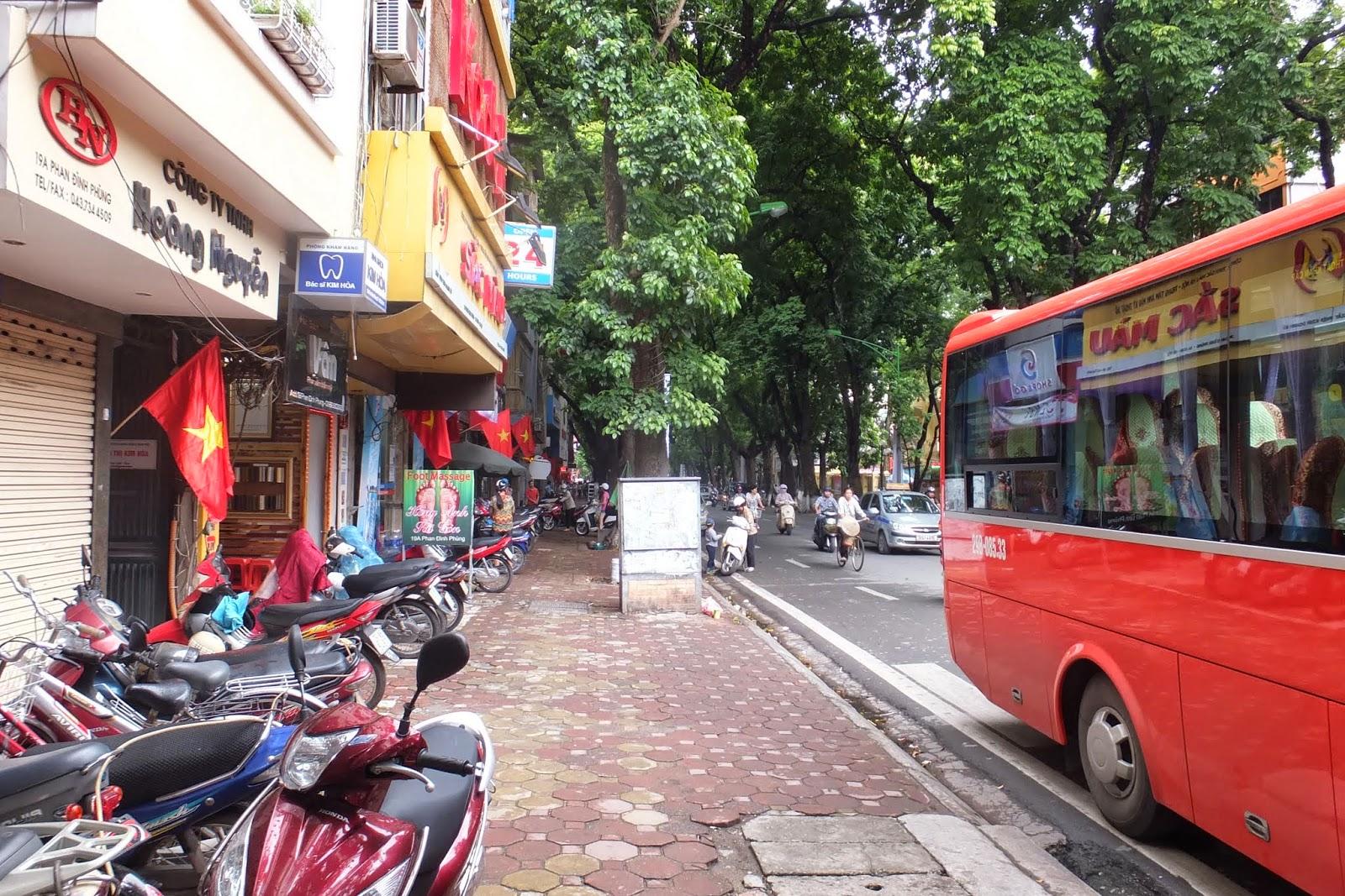 hanoi-city ハノイの街中