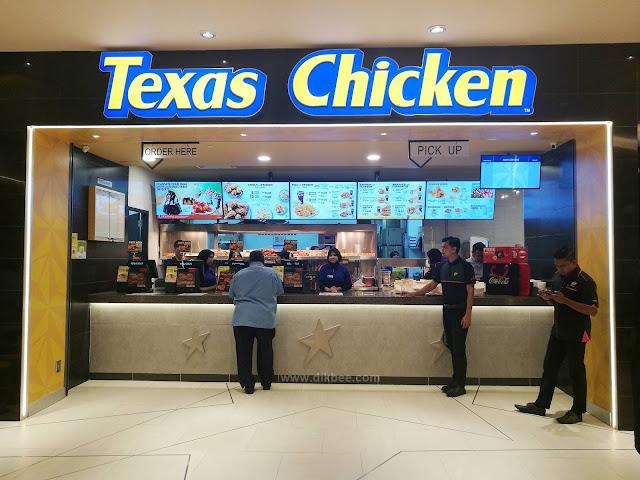 Tex Café Konsep Baru Di Texas Chicken Suria KLCC