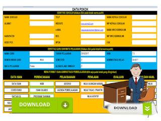 Berkas Administrasi Guru Format Excel
