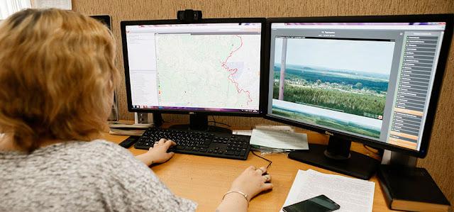 Пять камер с высоты полёта птиц следят за лесами района Сергиев Посад
