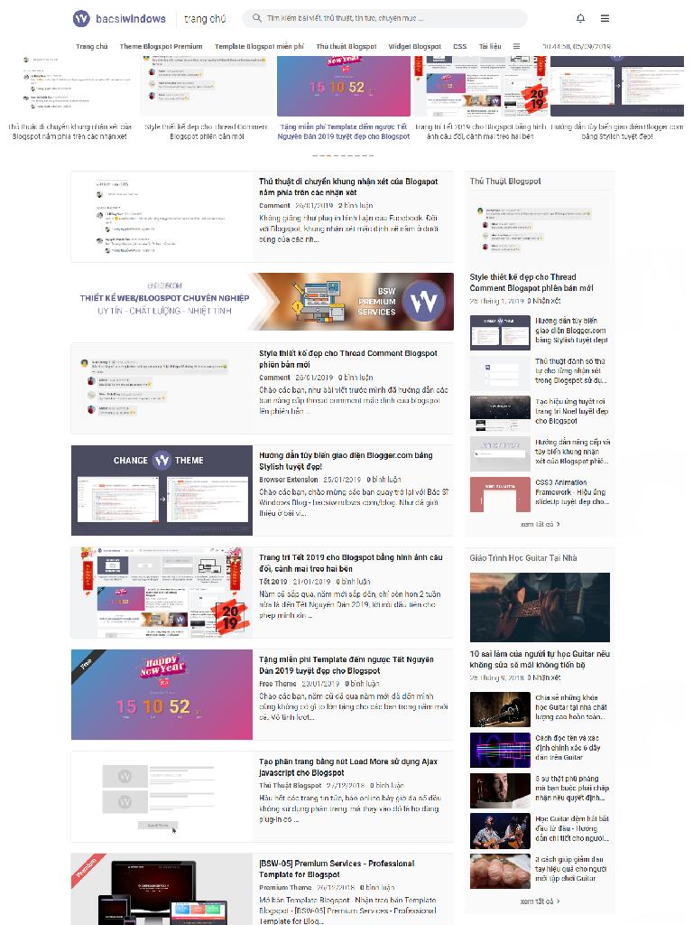 Template Blogspot Bác Sĩ Windows đẹp full - Ảnh 1