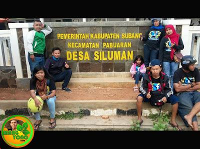 Desa Siluman.  Foto dapet nyomot di grup Facebook Subang.