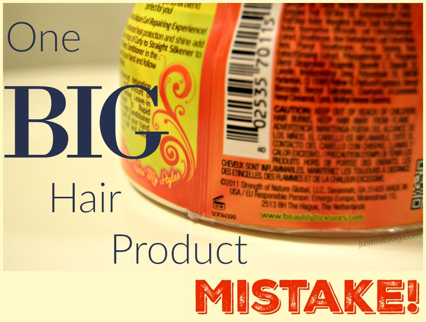 One Big Hair Product Mistake Just Mi