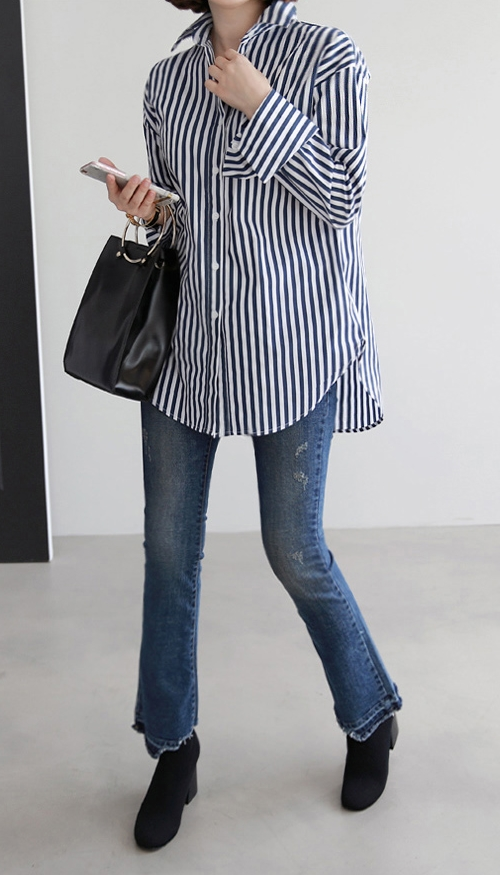 Bengal Stripe Button-Down Shirt