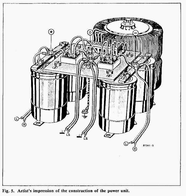 pictorial diagram of the power supply assembly
