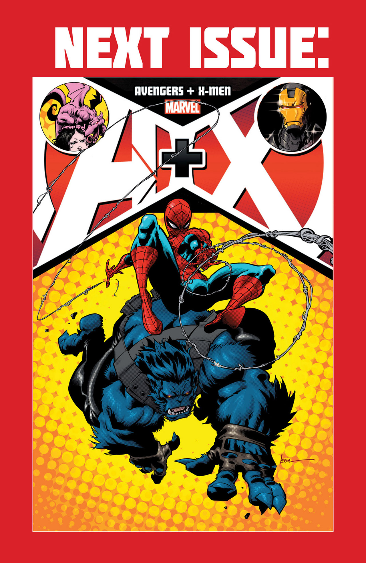 Read online A X comic -  Issue #1 - 22