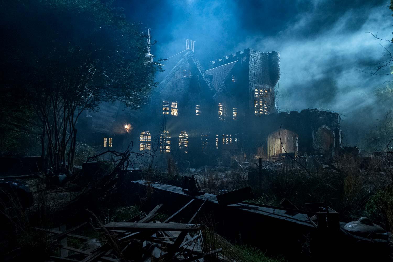 La maldición de Hill House - la casa