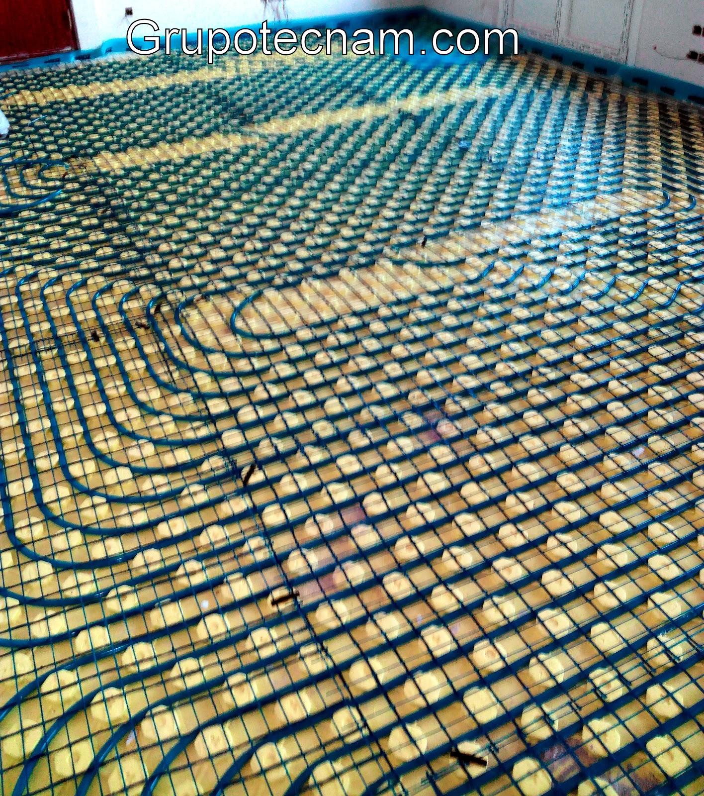 Instalamos bienestar suelo radiante calefacci n con ventajas - Ventajas suelo radiante ...