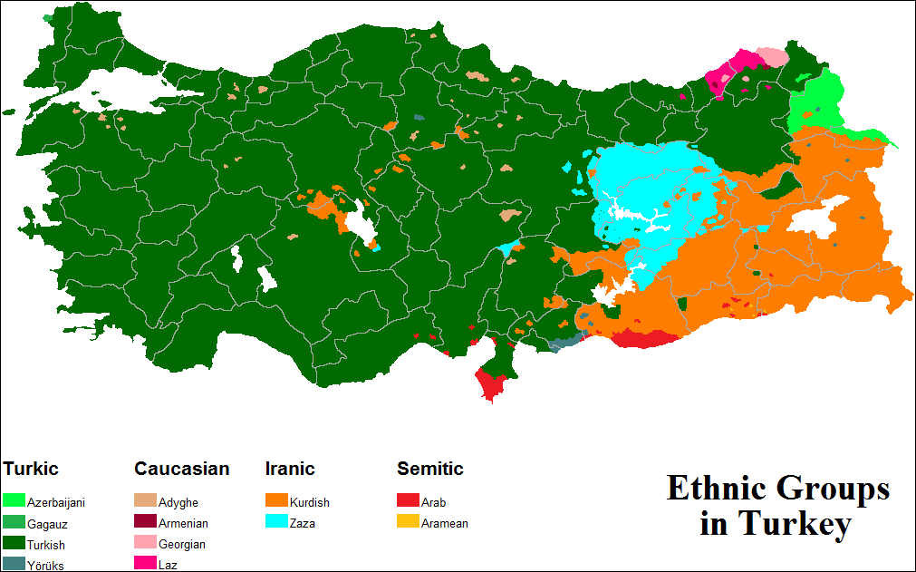 Ethnic groups in Turkey