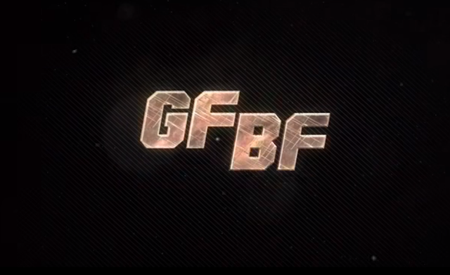 The latest motion poster of the song 'GF BF' is out.
