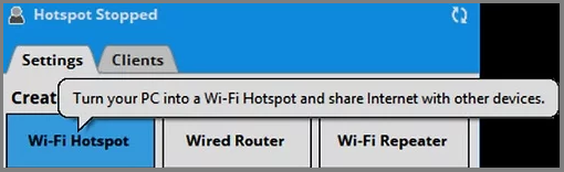 Share Computer Internet via connectify